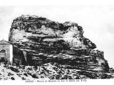la Rocca con il santuario di Santa Maria e la chiesa di San Michele a Badolo
