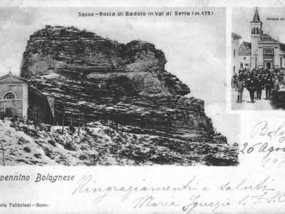 Le due chiese di Badolo nel 1900