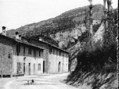 Osteria della Leona nel 1911