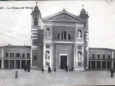 Il Santuario della Madonna del Sasso nel 1923