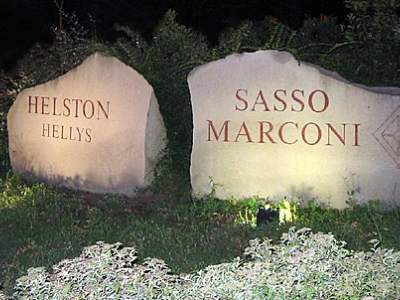 Sasso Marconi - Capoluogo - Ingresso del Paese