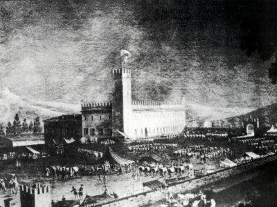 Palazzo Rossi a Sasso Marconi nel 1773