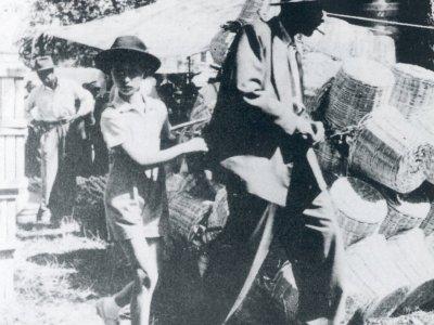 Fiera di Pontecchio nel 1948