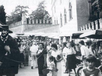 1982 la Fiera di Pontecchio a Palazzo Rossi
