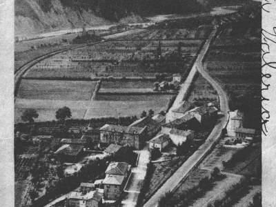 Il Borgo della Fontana visto dalla Rupe