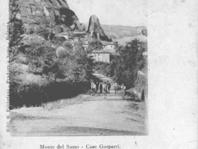 Strada che unisce case Gasparri alla Fontana