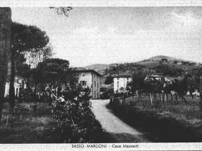 Il Borgo di Casa Mazzetti a Sasso Marconi nel 1942