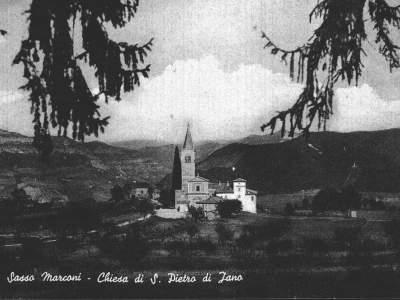 Cartolina di Iano - Sasso Marconi