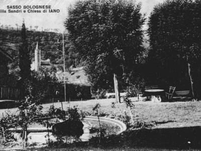 Iano - Parco di Villa Sandri nel 1927