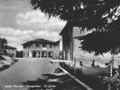 Cartolina dalla Grotta di Mongardino - Sasso Marconi
