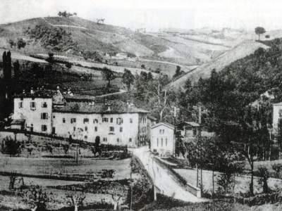 Borgo delle Ganzole panoramica - Sasso Marconi