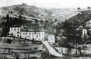 Panorama del Borgo da ponente