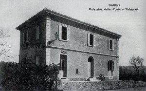 Ufficio Postale di Sasso Marconi anni '30