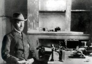 Guglielmo Marconi a San Giovanni di Terranova (Canada)
