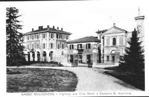 Ingresso Villa Achillini-Santa Apollonia in Borgo