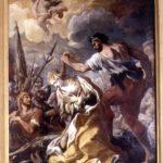 """Giovanni Antonio Burrini (1656-1727). """"Martirio di Santa Caterina di Alessandria"""""""