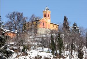 Immagine della chiesa di San Pietro di Castel del Vescovo.