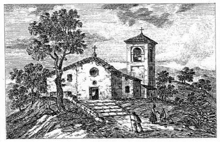 Chiesa di Nugareto del 1840