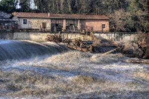Il Fiume Reno a Vizzano - Sasso Marconi - Foto di Lupo Lorenzo Calzoni