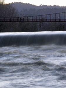 Ponte di Vizzano sul fiume Reno - Sasso Marconi - Foto di Lupo Lorenzo Calzoni