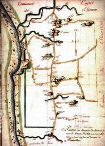 Mappa del 1775