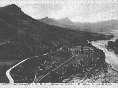 Panoramica della valle del Setta