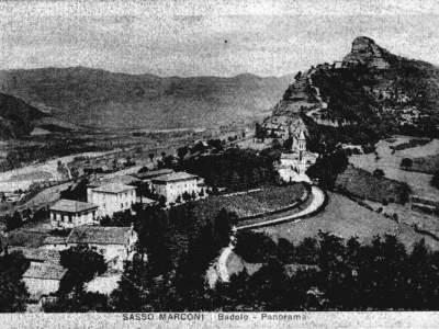 Panorama di Badolo nel 1938