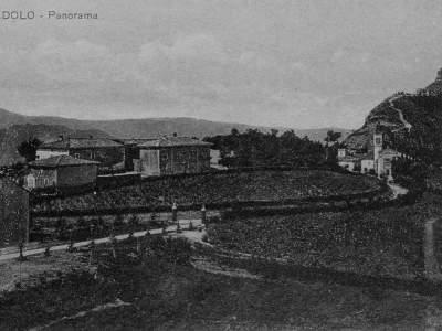 Panorama di Badolo nel 1920