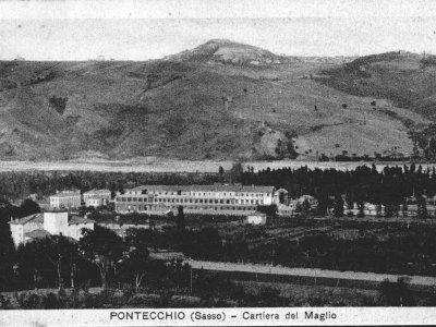 La Cartiera del Maglio nel 1926