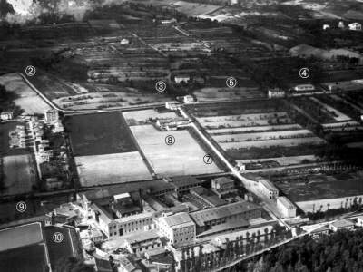 La Longara nel 1927