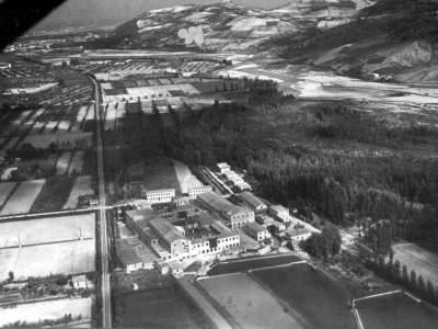 borgonuovo la Cartiera del Maglio nel 1927