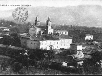 Panorama di Sasso nel 1926