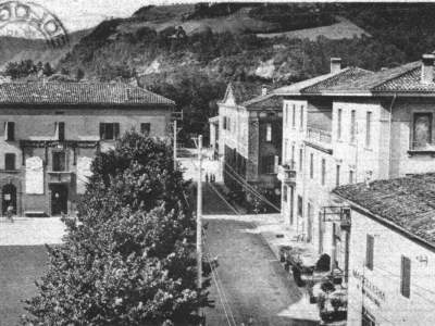 Panorama della Piazza visto da nord NEL 1942