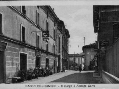 Ingresso al Borgo da nord nel 1936