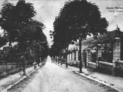 Viale Nuovo nel 1940