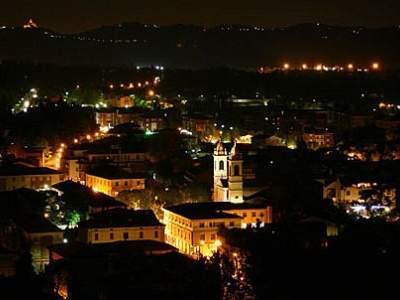 Sasso Marconi - Capoluogo - Panoramica Notturna