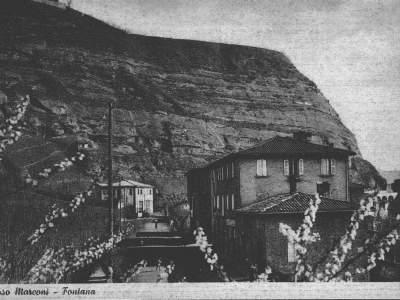 Panorama della Fontana nel 1940