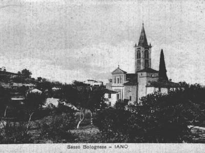 La chiesa di Iano nel 1935