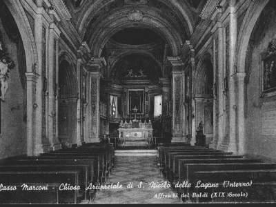 Interno della Chiesa di San Nicolò delle Lagune - Sasso Marconi