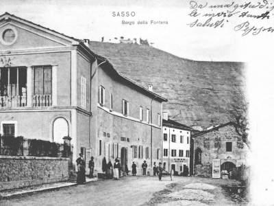 Il centro della Fontana nel 1900