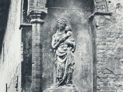 Madonna con bambino a Palazzo Sanuti