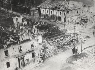 via Castello distrutta
