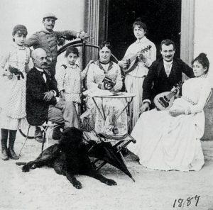 1887 La famiglia acquaderni