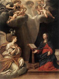"""""""L'Annunciazione"""" di Francesco Albani (Heremitage, San Pietroburgo)"""