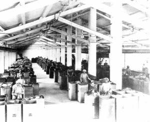 Cartiera del Maglio - Sala cernitrici degli stracci