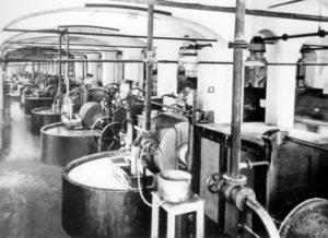 Cartiera del Maglio - Sala cilindri sfilacciatori