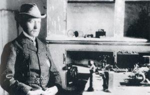 Guglielmo Marconi nel 1901